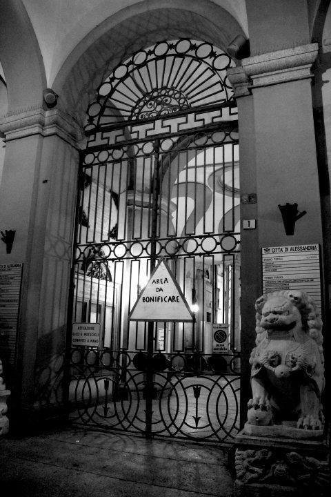 fiaccolata teatro- palazzo rosso