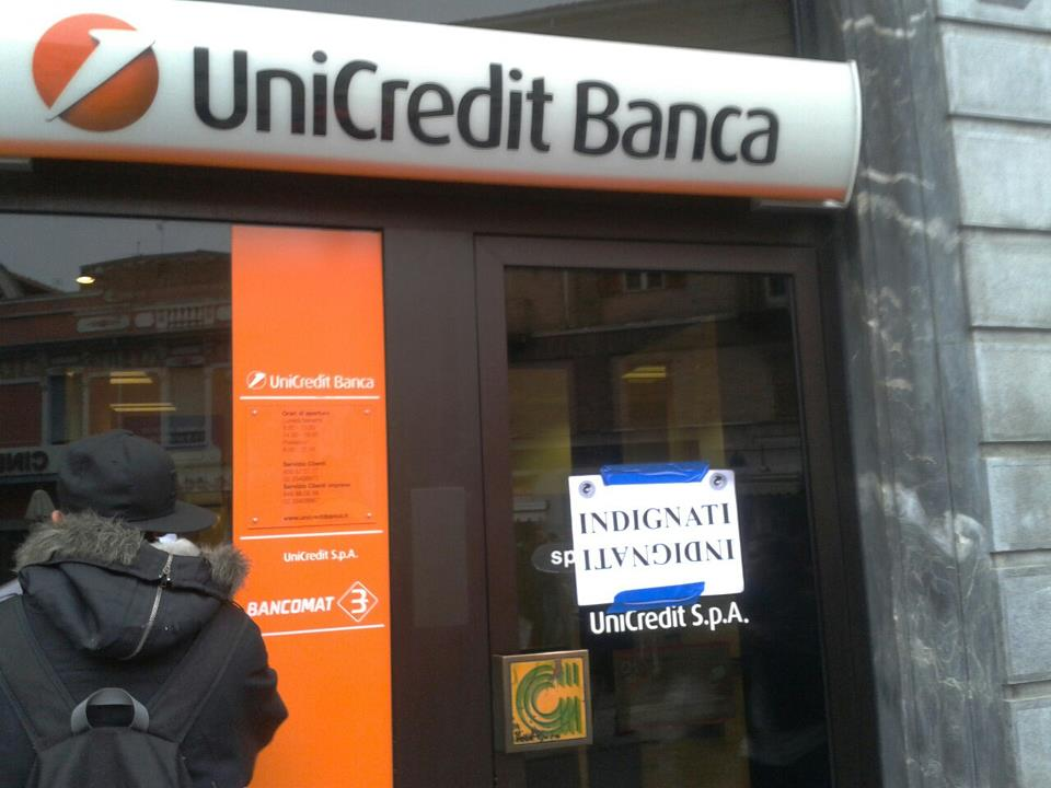 indignati unicredit
