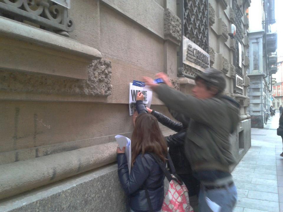 occupy corso roma