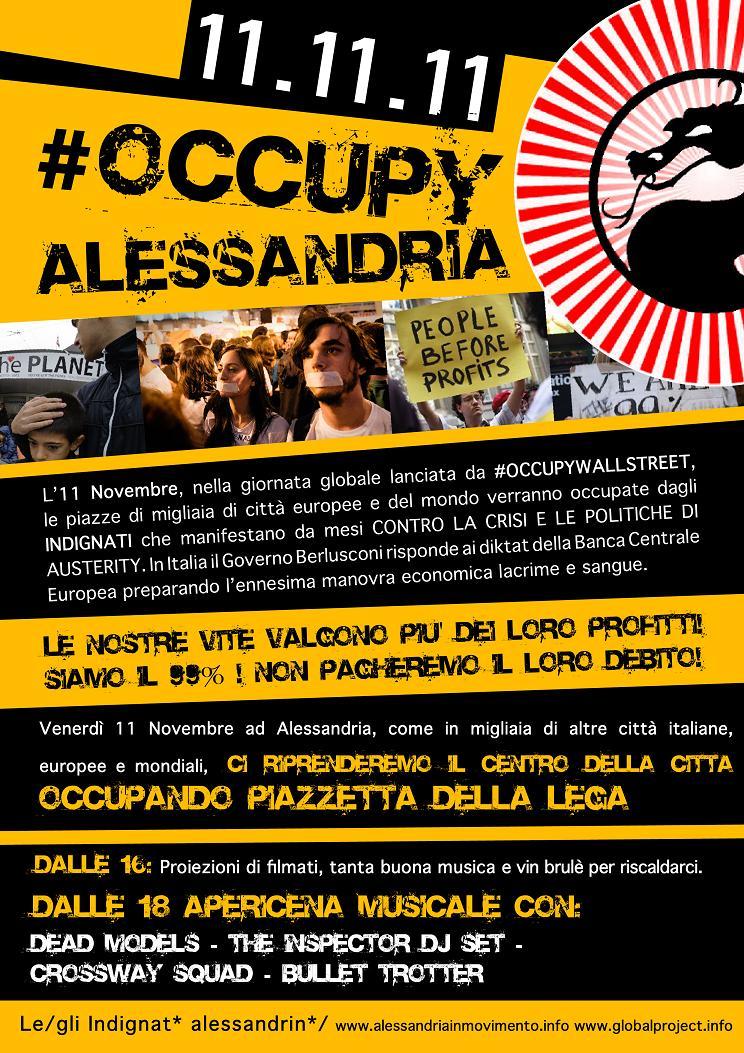 occupyalessandria, manifesto