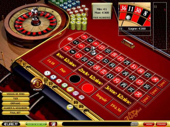 roulette casinò online