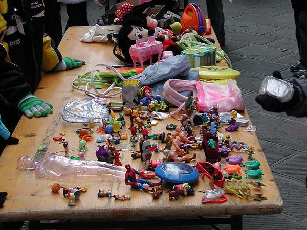 mercatino bambini