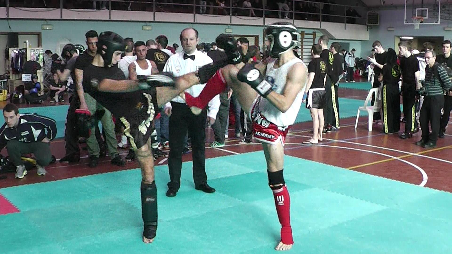 Marco Ciliberto thai boxe