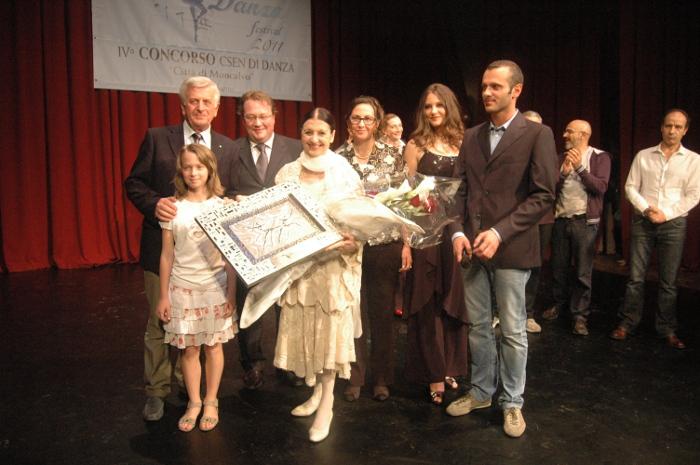 Moncalvo in Danza Festival 2011 ospita Carla Fracci