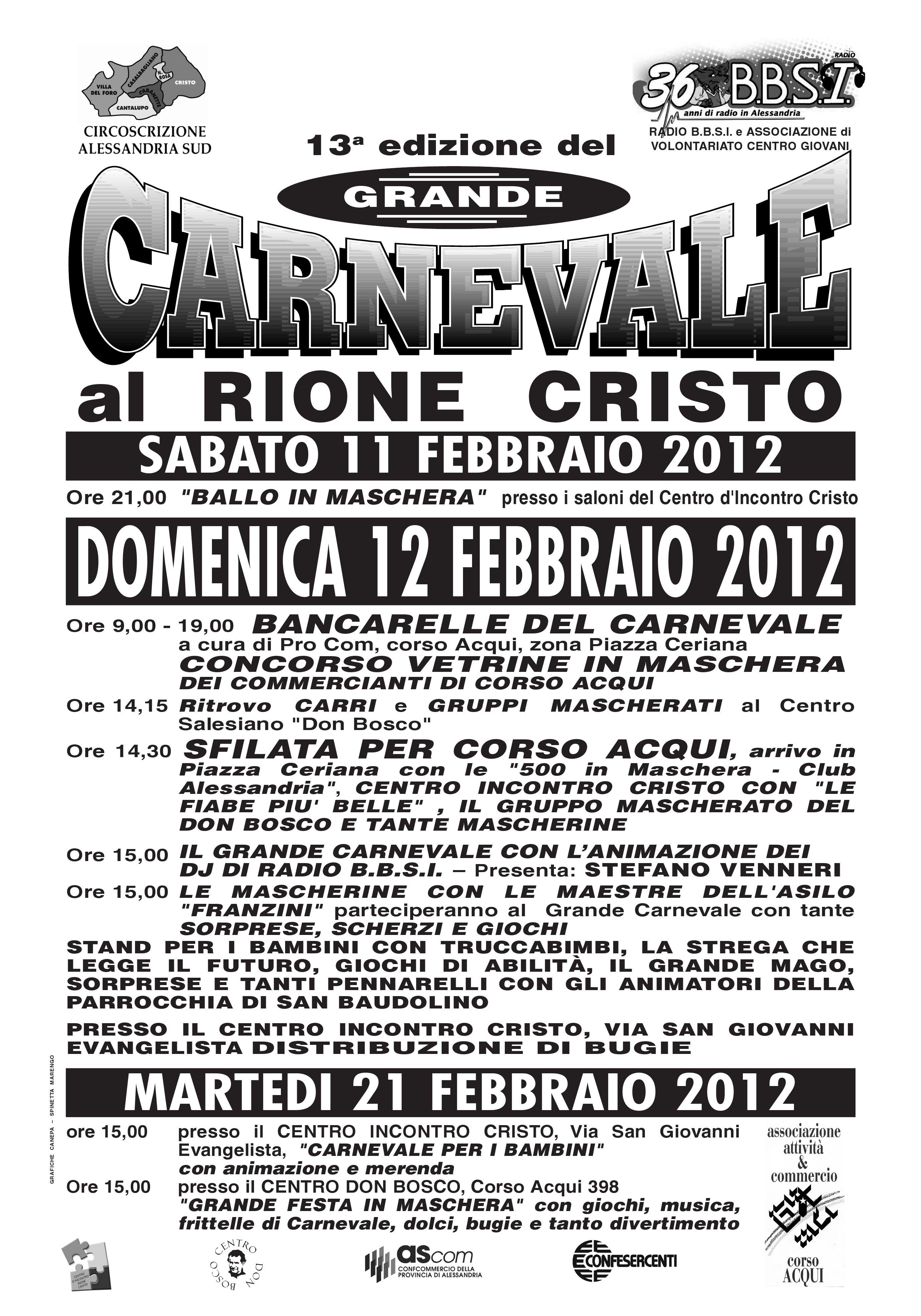 Carnevale al Cristo 2012