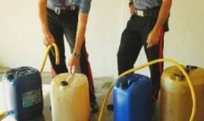 carabinieri- furti benzina
