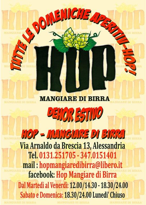 hop mangiare di birra