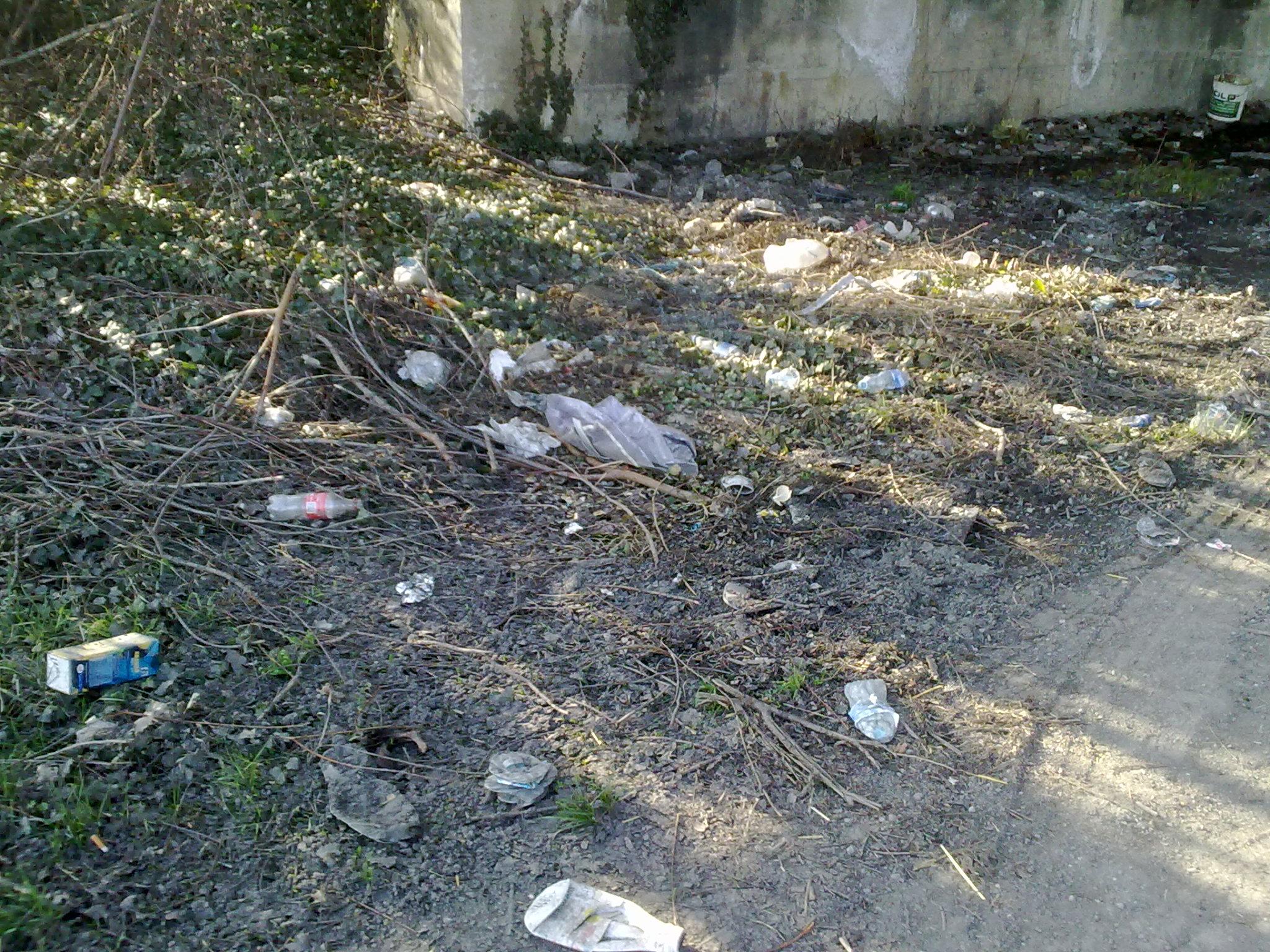incrocio alessandria sud discarica rifiuti