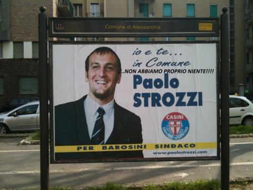In Comune.. manifesto taroccato strozzi