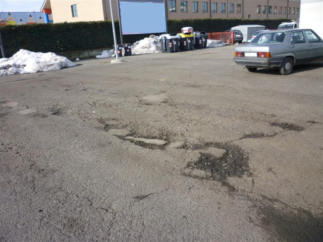 piazza campora asfalto