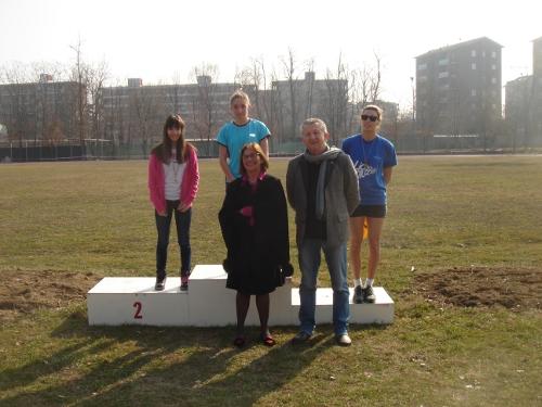 podio atletica leggera corsa campestre campo scuola guazzotti provveditore d'alessandro