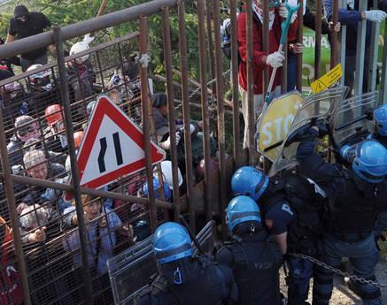 val susa no tav manifestazione scontri protesta disobbedienti