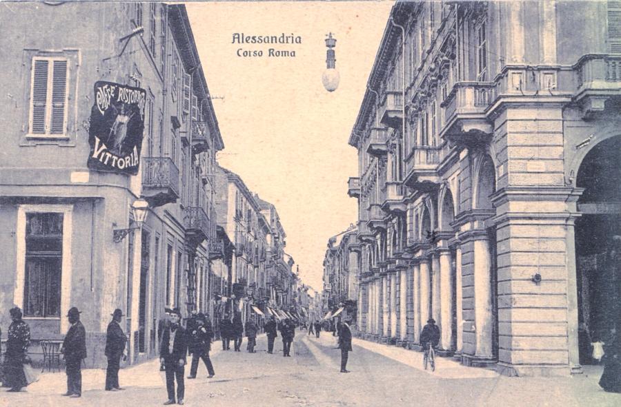 Corso Roma, foto d'epoca