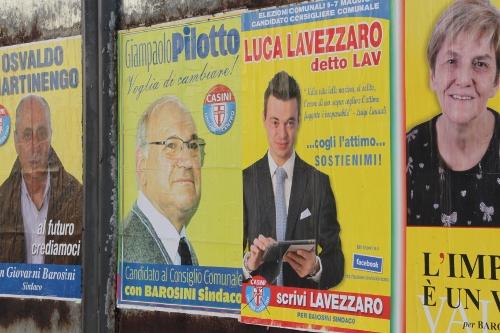 manifesti elettorali elezioni campagna