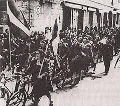 partigiani in bici