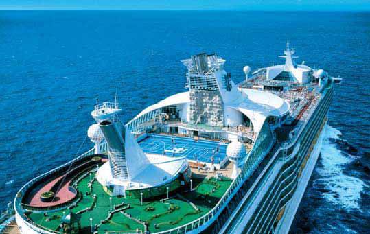 crociera nave vacanza oceano mare