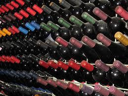 vino, bottiglie