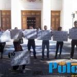 protesta tribunale affidamento