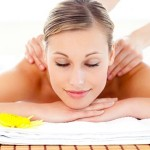 benessere, massaggio, spa, donna