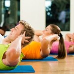 fitness, palestra, addominali, benessere