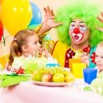 pagliaccio, animazione, festa, bambini