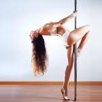 pole dance, donna