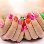 smalto, manicure, moda, colore, mani