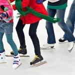 pista di pattinaggio, ghiaccio