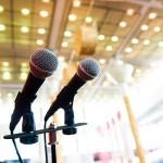 public speaking, microfono, microfoni