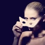 maschera, carnevale, donna